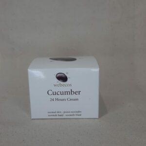 Cucumber cream 24 hours Webecos 50ml