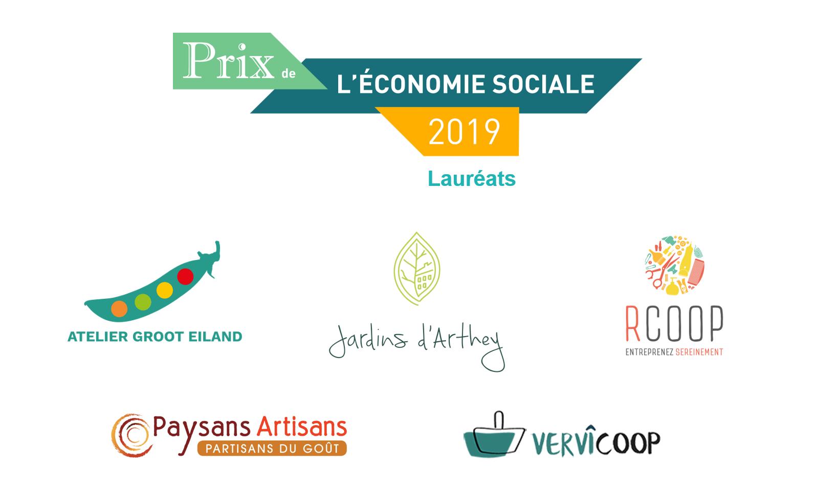 Prix de l'économie sociale 2019
