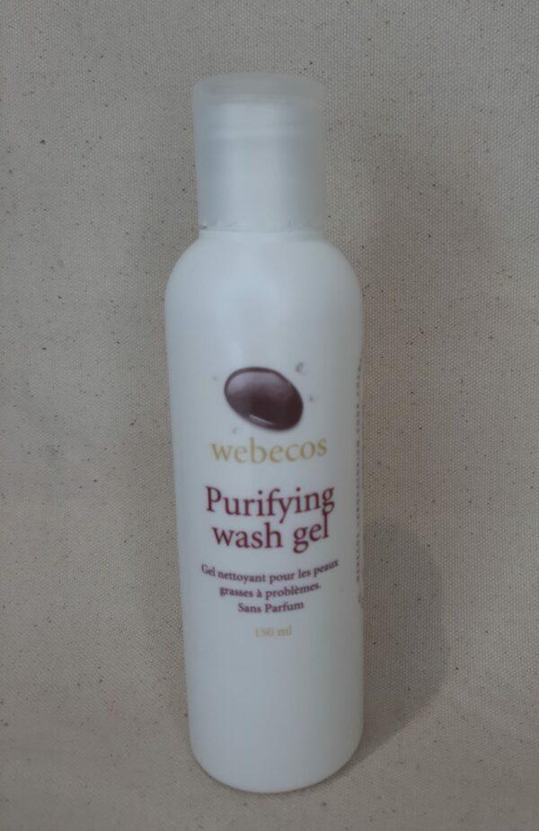Purifying wash gel Webecos 150 ml
