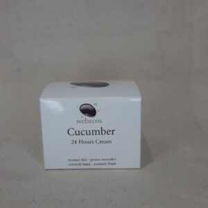 Cucumber cream 24 hours Webecos 50ml