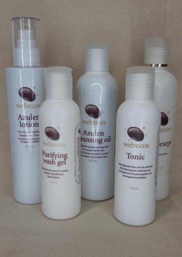 Nettoyants et tonique pour désincruster et désinfecter la peau la lotion tonique resserre les pores Webecos